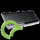 Клавиатура  Delux DLK-1500U USB Black