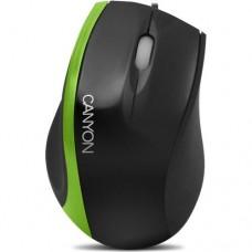 Мишка CANYON CNR-MSO01N Black/Green